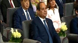 الرئيس السيسي يشهد فعاليات المؤتمر الوطني الخامس للشباب