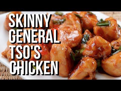 SKINNY GENERAL TSO'S CHICKEN // Weight Watchers Recipe // 8 Point Dinner