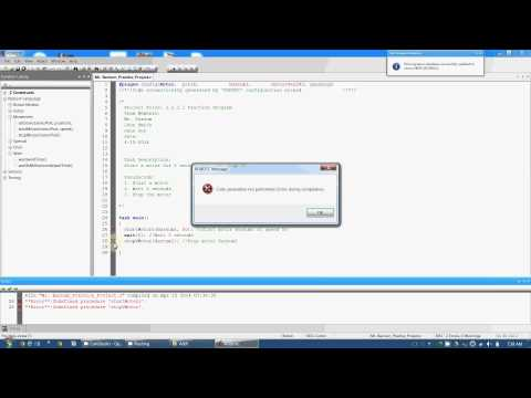 Robot C - #07 Compiling and Fixing Errors