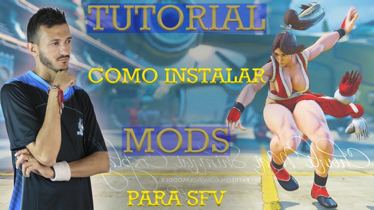 Como instalar mods em Street Fighter 5 para mudar o visual