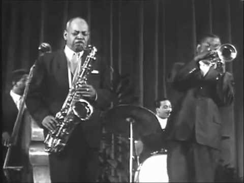 Roy Eldridge, Coleman Hawkins, Vic Dickenson 1958 Cannes - Undecided TV+text
