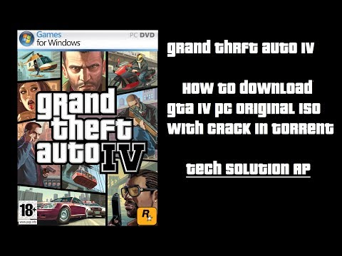 How To Download Gta IV Pc Original Iso With Crack In Torrent