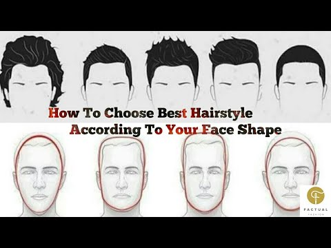 Choose The Best Hairstyle For Your Face Shape For Men Hairstyle