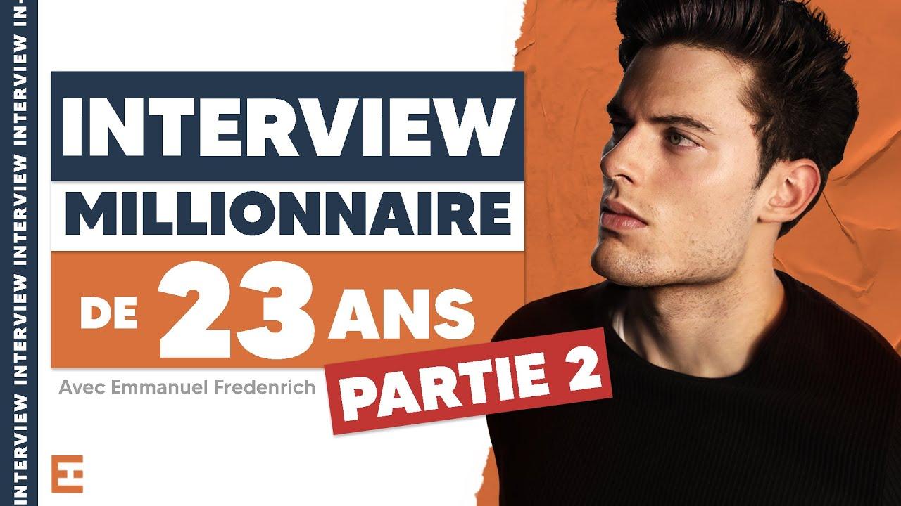 Comment a t-il réagi face à la vidéo clash de Seb La Frite ? Interview Emmanuel Fredenrich (ep 2)