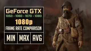 Call of Duty: WW2 GTX 1050 Ti vs. GTX 1060 vs. GTX 1070 vs. GTX 1080 [Beta]