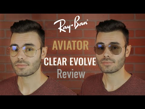 Ray-Ban Aviator Clear Evolve Review