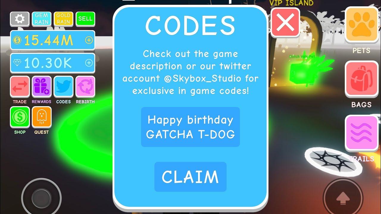 All Working Free Codes Egg Simulator See Spooky Island Happy Birthday Gatcha Subto2kidsinapod Youtube