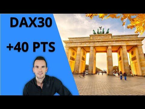 SCALPING DAX30 ⏰ Bonjour CAC40 & DAX30 [28 janvier 2020]