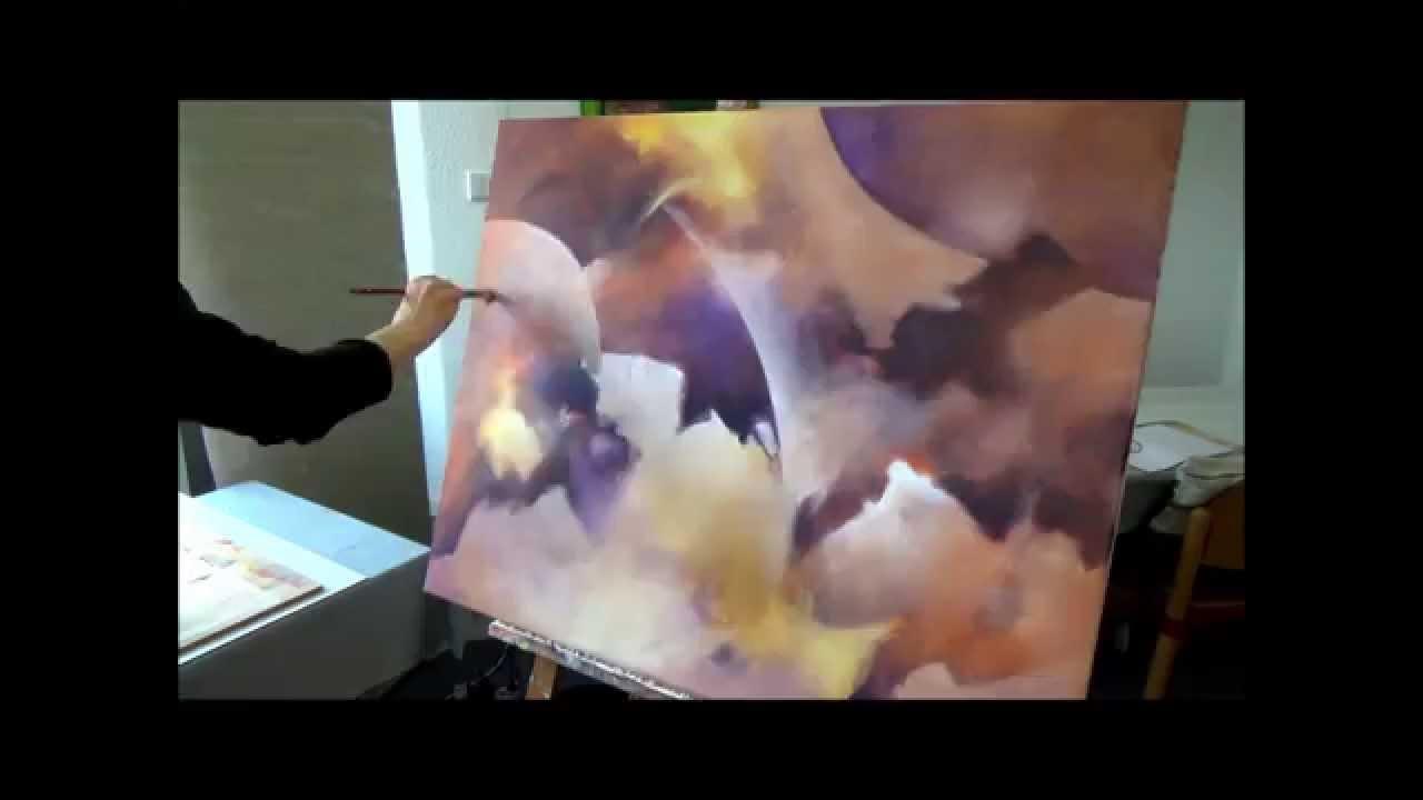Youtube: Acrylmalerei Ein Bild Entsteht Aus Dem Nichts