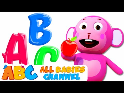 ABC Songs For Children | Phonics Song | 3D Rhymes For Babies