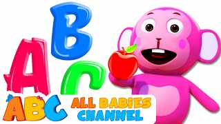 ABC Songs For Children | Phonics Song | 3D Rhymes For Babies by All Babies Channel