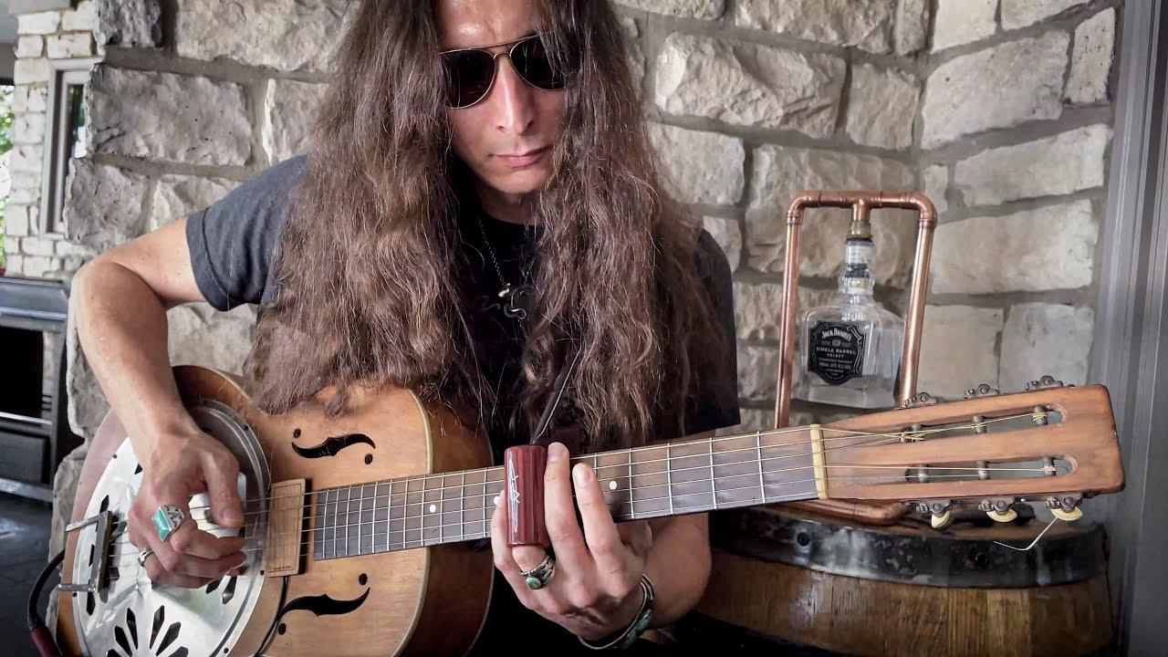 "Lynyrd Skynyrd's ""THE BALLAD OF CURTIS LOEW"" • Fingerstyle Slide Guitar Cover"