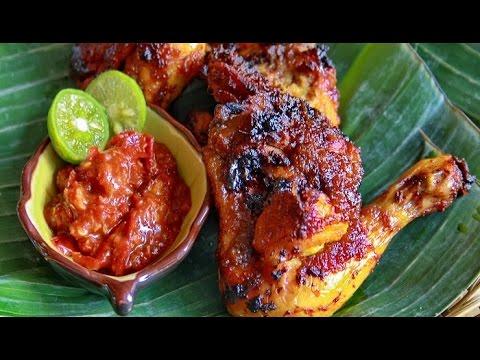resep ayam bakar kecap ala wong solo   youtube