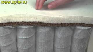 Пружинный матрас с прослойкой кокоса и латекса(, 2011-12-09T08:19:20.000Z)