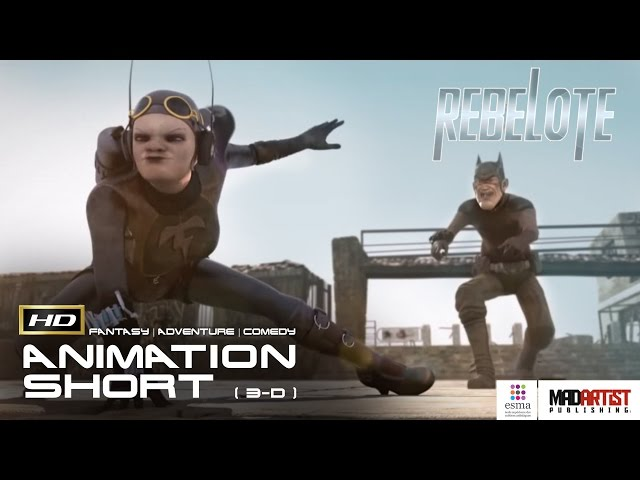 REBELOTE | 3D CGI Animation Short about Superheroes after their careers by ESMA