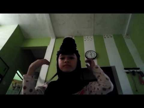 Tutorial hijab anak (Adinda, 7th)