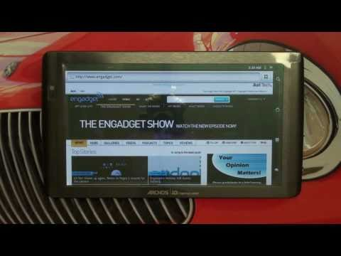 Archos 101 Android Web Tablet Overview by The Digital Digest thumbnail
