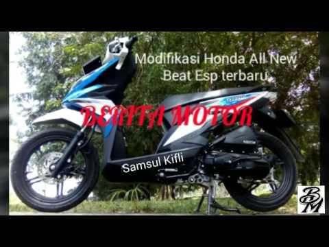 Modifikasi Honda All New Beat Esp Terbaru Youtube