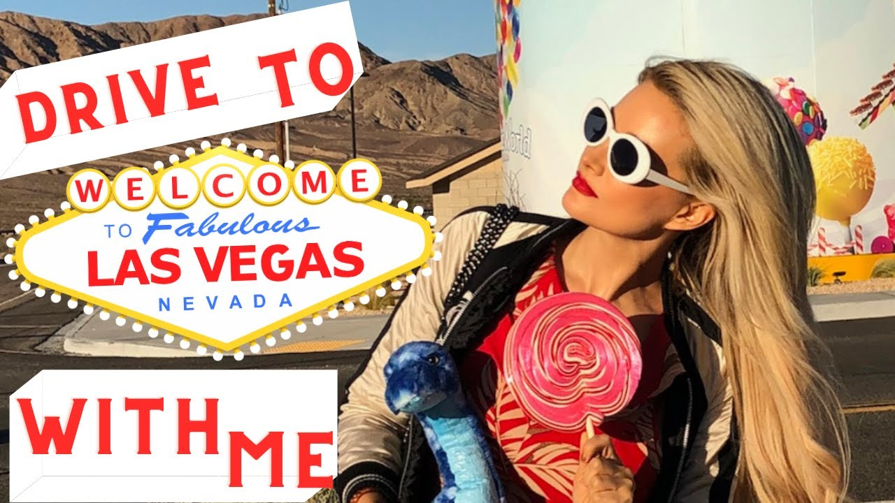 DRIVE TO LAS VEGAS WITH ME / VLOG STYLE ROAD TRIP FROM LA TO VEGAS