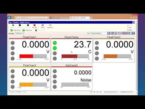 Yokogawa MW100 DAQMaster Data Viewer Software Tutorial