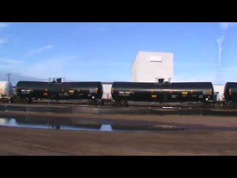 BNSF Yard Drill & General Freight Tulsa, OK 9/29/17 vid 1 of 15