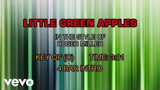 Roger Miller - Little Green Apples (Karaoke)