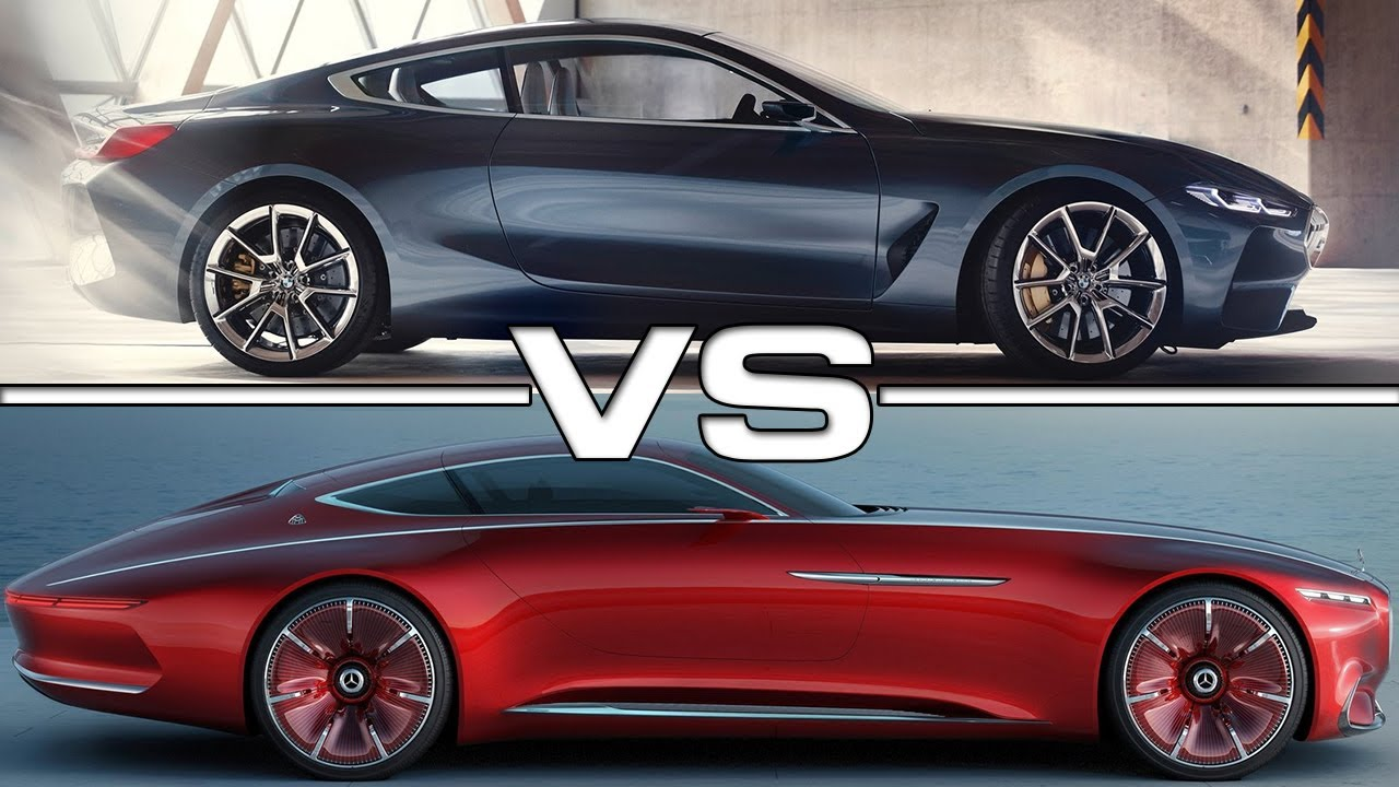 The Best Luxury Cars Of 2018: EXCLUSIVE LUXURY CARS 2018 BMW 8 Series Vs 2018 Vision