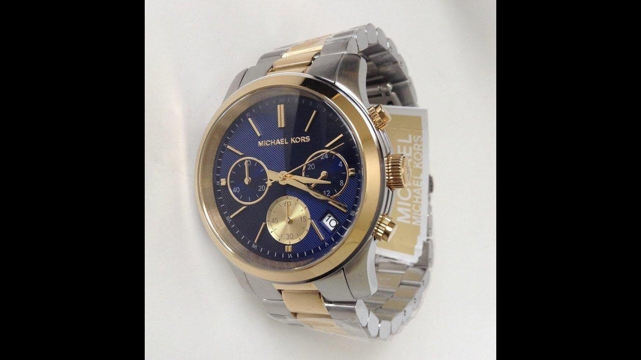 7f9a19705d2d Unboxing zegarek Michael Kors MK6165 - YouTube