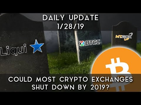 Daily Update (1/28/19) | Will most crypto exchanges shut down in 2019?