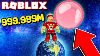 Il BIGGEST bubble BALL in CHEWING GUM SIMULATOR di ROBLOX - Bubbles Gum Simulator 🎮
