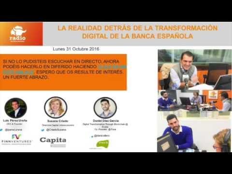 Blockchain y su impacto en la Banca. Programa con Susana Criado en Intereconomia