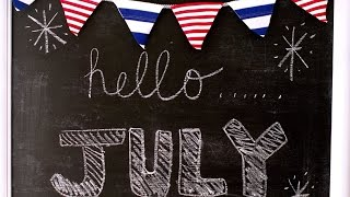 Make A Patriotic Red, White & Blue Banner - Diy Home - Guidecentral