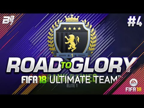 ROAD TO GLORY! FINISHING ELITE 1 IN SQUAD BATTLES #4 | FIFA 18 ULTIMATE TEAM