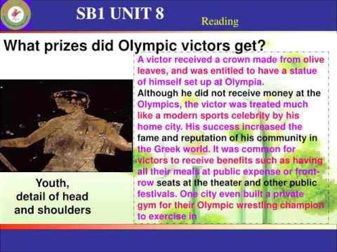 SB1 UNIT 8  / SB1 UNIT 8 Reading O