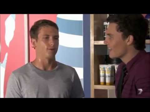 Oscar 39 s gym obsession home and away 14th august 2014 for Oscar home