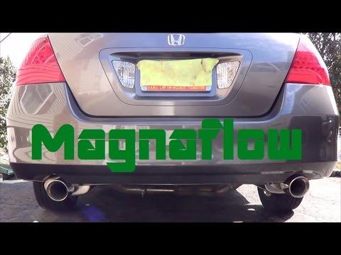 2007 honda accord ex l v6 magnaflow cat back exhaust