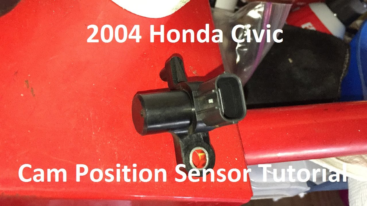 maxresdefault tutorial replace 2004 honda civic cam position sensor youtube 2000 honda civic crankshaft position sensor diagram at alyssarenee.co
