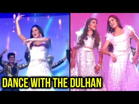 Katrina Kaif DANCES To Teri Ore With The Bride At Tanushree Rungta Delhi Wedding