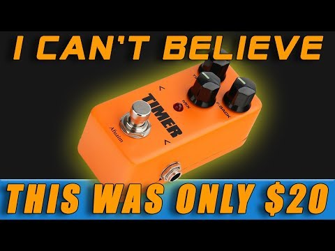 Cheapest Delay Pedal On Amazon!