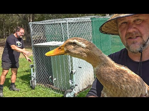 Mobile DUCK Tractor Experiment is OVER