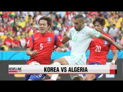 Korea loses to Algeria 4-2