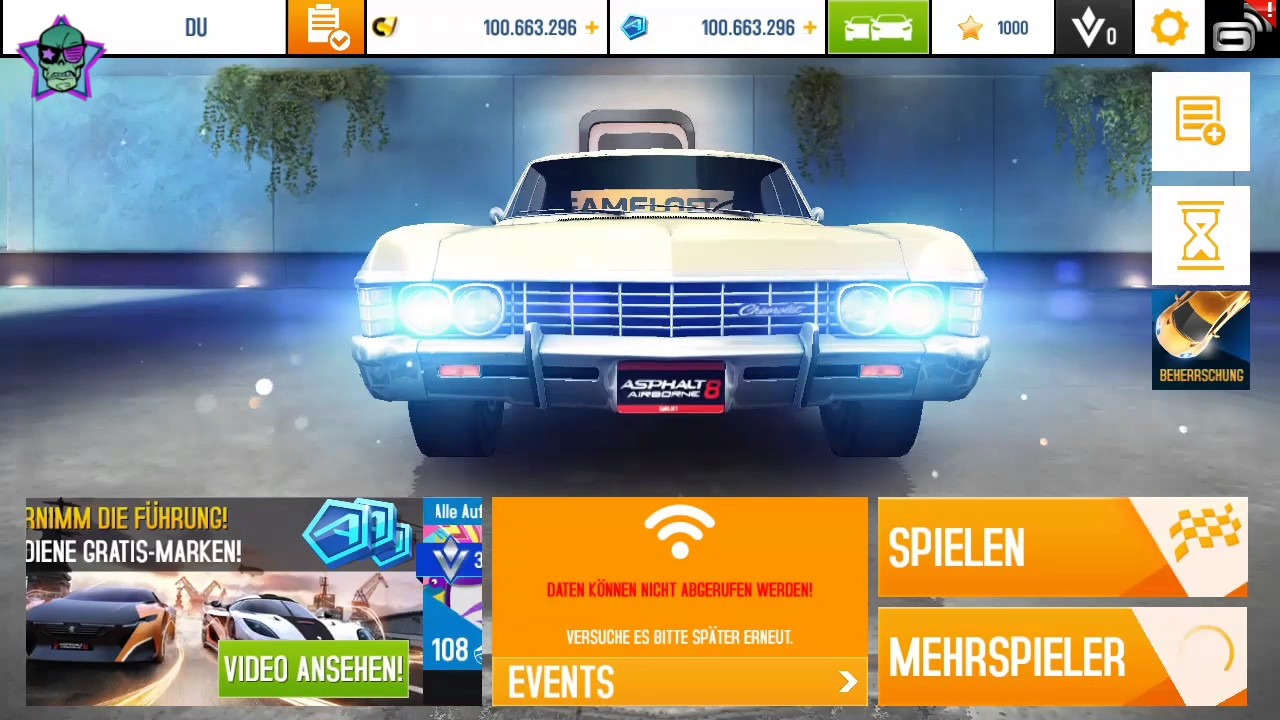 The Secret Chevrolet Impala In Asphalt 8 Youtube
