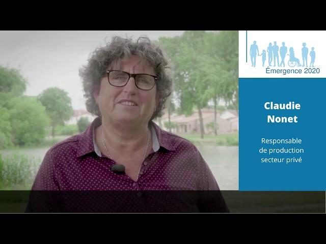 Elections municipales Saint-Georges de Didonne 2020 - Claudie NONET - Réalisation Emergence 2020.