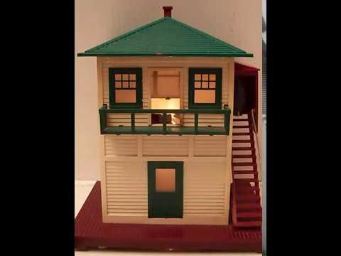 lionel 445 switch tower demonstration youtube. Black Bedroom Furniture Sets. Home Design Ideas
