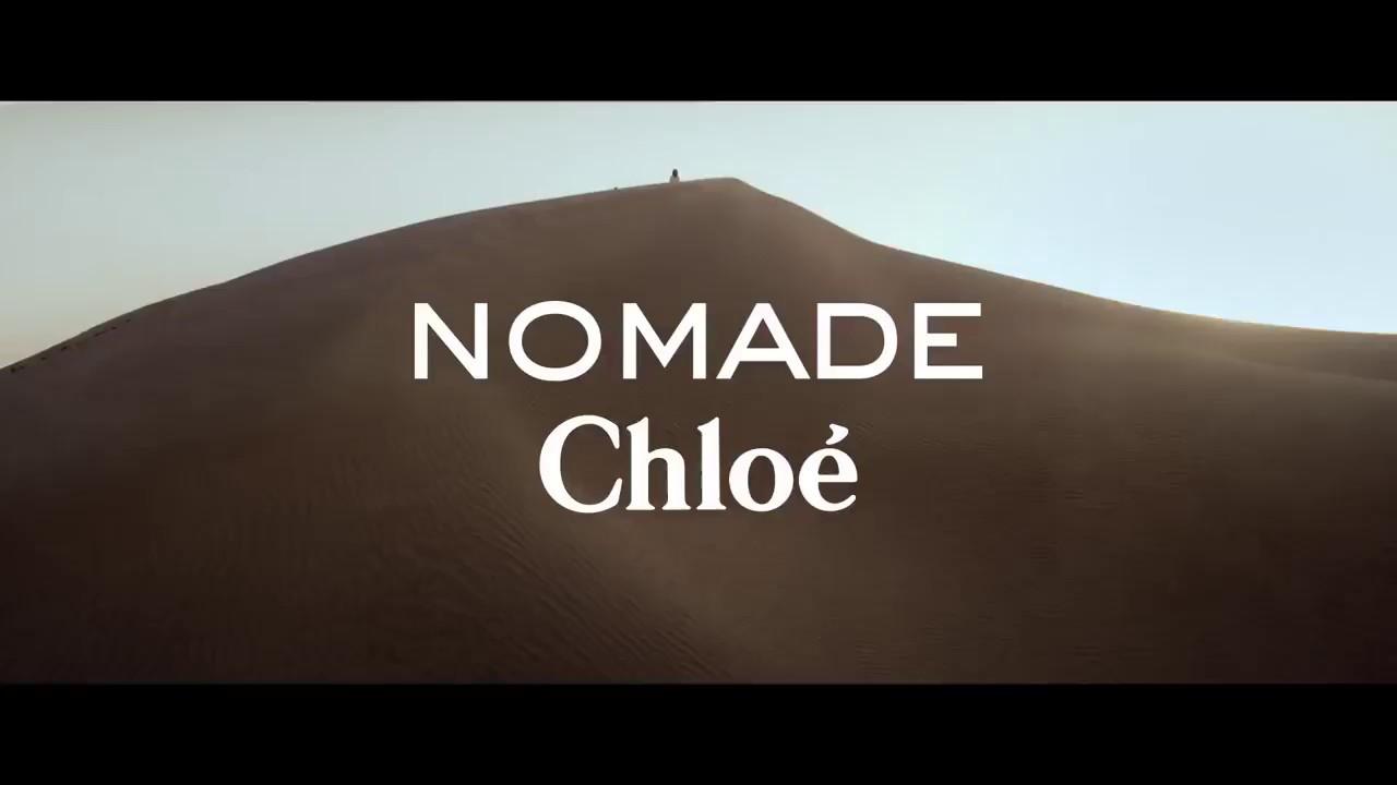 Nouveau Chloé Pub Parfum Officielle Nomade orCxBed