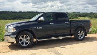Обзор Dodge Ram 1500 Hemi 5.7 2015  Года Часть 2