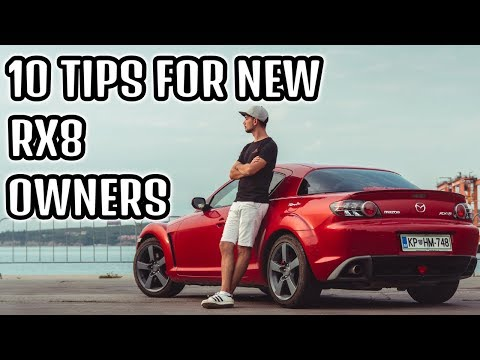 10 TIPS FOR NEW RX8 OWNERS   Better Fuel Economy, Reliability & Power
