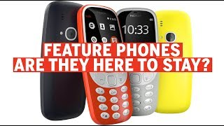 Is there a market for the not-so-smart feature phones?