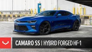 Chevrolet Camaro SS   Vossen Hybrid Forged HF-1 Wheels in Gloss Black