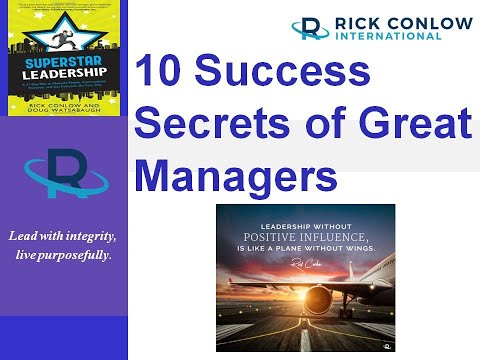 Leadership Success Secrets Of Great Managers